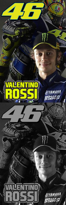 VR|46 Valentino Rossi The Doctor Yamaha Movistar Team