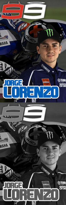 99 Jorge Lorenzo Yamaha Movistar Team