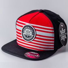 BONE-ABA-RETA-SNAPBACK-ESSENCIAL-ELEMENT-PRETOVERMELHO
