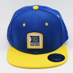 BONE-ABA-RETA-SNAPBACK-ESSENCIAL-BEHAVIOR-AZULAMARELO---FRENTE