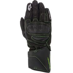LUVA ALPINESTARS SP-M8 MONSTER ENERGY PRETO/VERDE