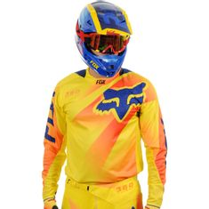 CAMISA FOX 360 FLIGHT 15 LARANJA