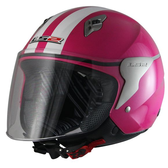 CAPACETE LS2 OF559 BLINK ROSA