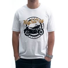 CAMISETA HIGHWAY VINTAGE BRANCO