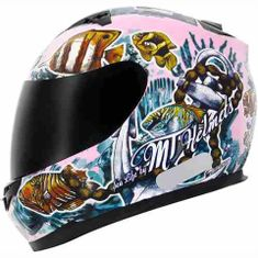 CAPACETE MT BLADE SEALIFE ROSA