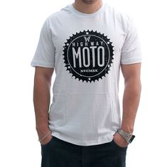 CAMISETA HIGHWAY CLASSIFIELD BRANCO