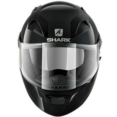 CAPACETE SHARK VISION-R S2 BLANK PRETO