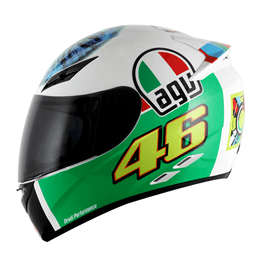 CAPACETE-AGV-K3-THE-EYE-REPLICA-VALENTINO-ROSSI-BRANCO-3
