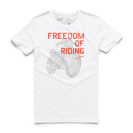 CAMISETA-ALPINESTARS-FREEDOM-OF-BRANCO