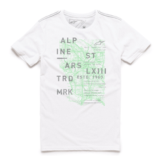CAMISETA-ALPINESTARS-MAP-BRANCO