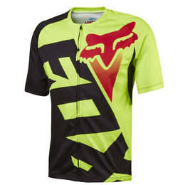 CAMISETA-FOX-RACE-AMARELO-FLUOR-