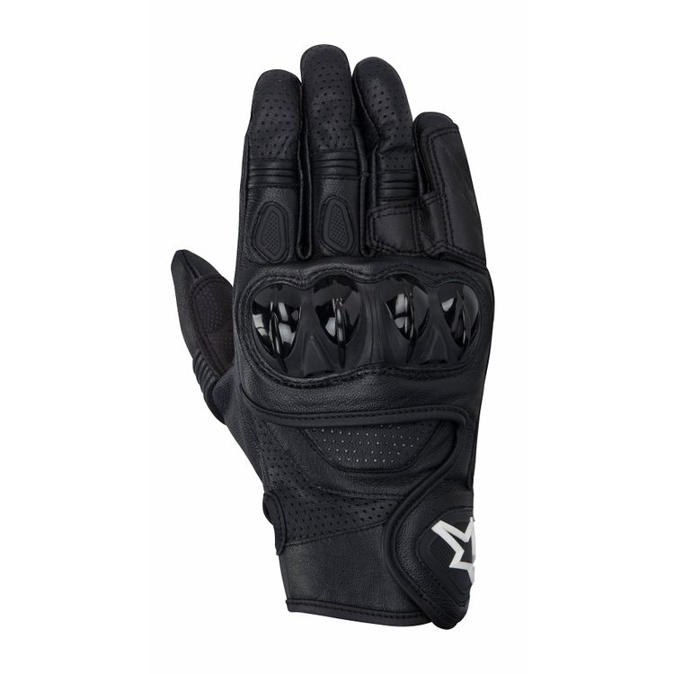 CELER_leather_glove_black