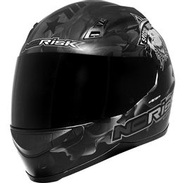 capacete-norisk-commando-matt-black