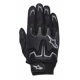 LUVA-ALPINESTARS-FIGHTER-AIR-VENTILADA-PRETO