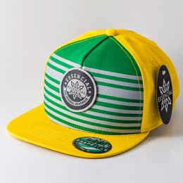 BONE-ABA-RETA-SNAPBACK-ESSENCIAL-ELEMENT-VERDEAMARELO