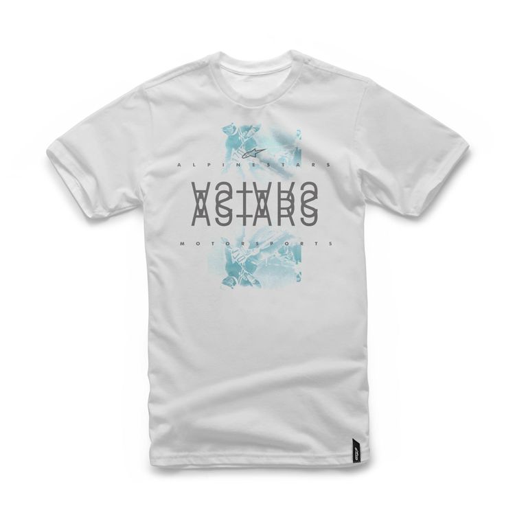 CAMISETA ALPINESTARS MIRROR BRANCO