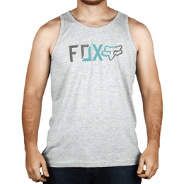 CAMISETA-REGATA-FOX-RIVET-CINZA