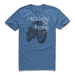 CAMISETA-ALPINESTARS-FREEDOM-OF-AZUL
