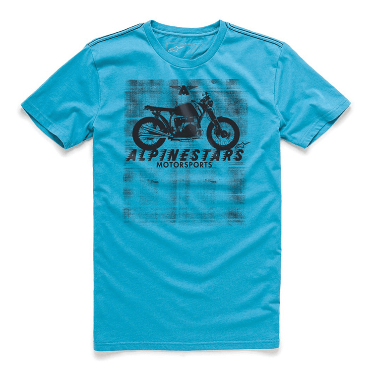 CAMISETA-ALPINESTARS-AM-RIDE-AZUL