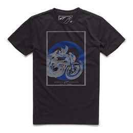 CAMISETA-ALPINESTARS-HAIR-PIN-PRETO