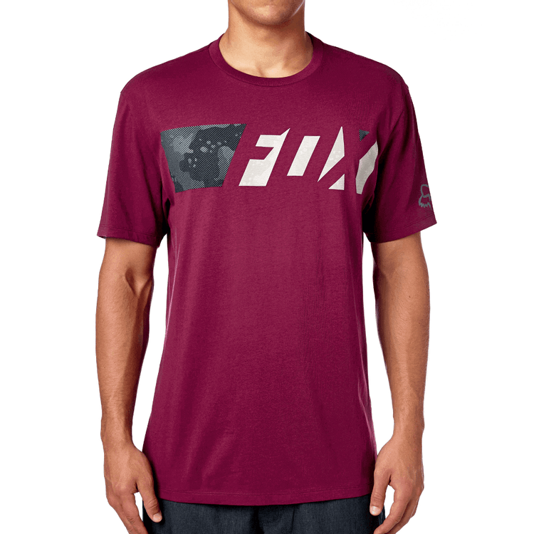 CAMISETA-FOX-ERUPTION-BURGUNDY