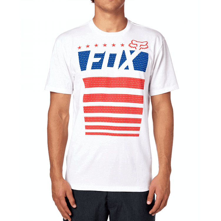 CAMISETA-FOX-RED-WHITE-AND-TRUE-BRANCO