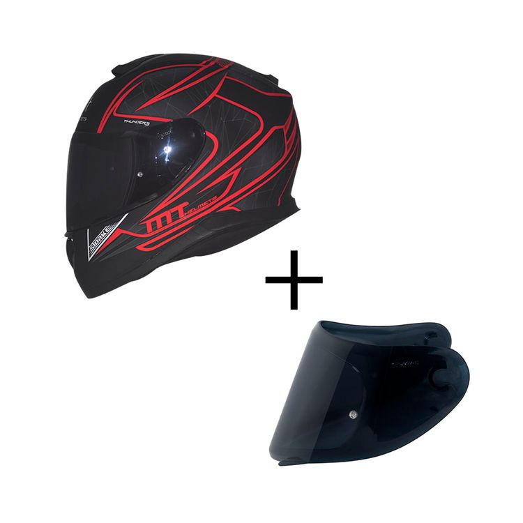 CAPACETE-MT-THUNDER3-STORKE-MATT-BLACK-RED-MAIS-VISEIRA-FUME