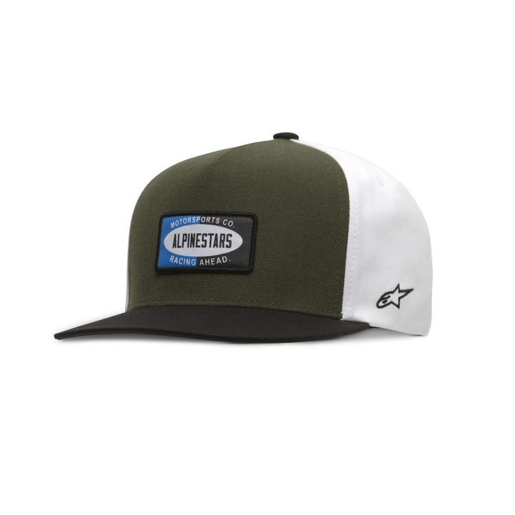 BONE-ALPINESTARS-AFTERNOON-VERDE-MILITAR-UNICO-min