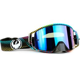 OCULOS-DRAGON-NFX2-BLUR-LENTE-AZUL-ESPELHADA---TEAR-OFF-PACK-C10---LENS-SHIELD-PRETO