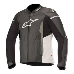 JAQUETA-ALPINESTARS-FASTER-LEATHER-PRETO-RANCO