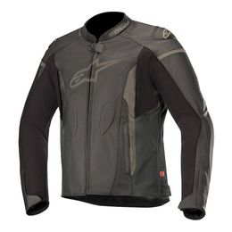 JAQUETA-ALPINESTARS-FASTER-LEATHER-PRETO