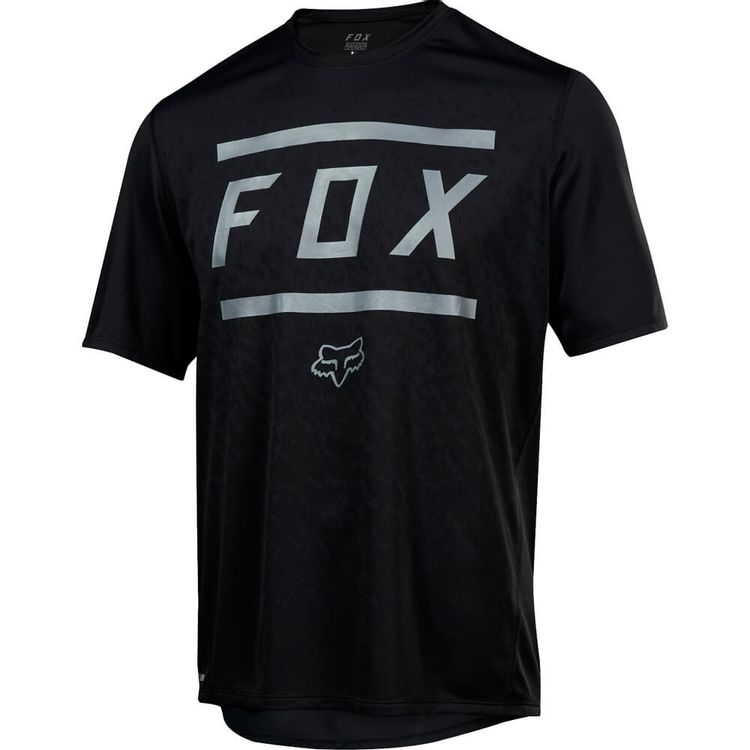 CAMISETA-FOX-BIKE-RANGER-SS-BARS-JERSEY-PRETO