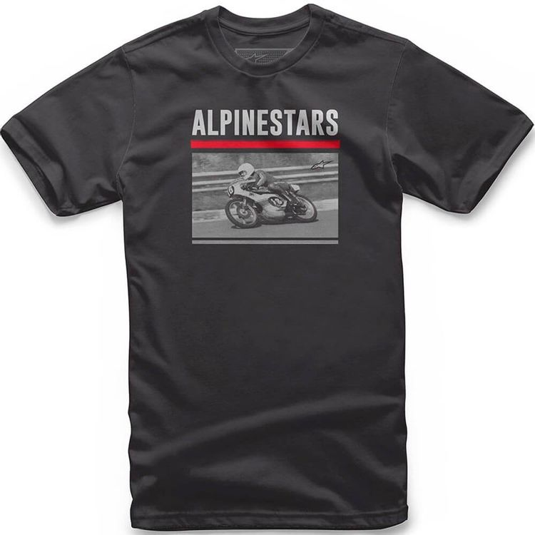 CAMISETA-ALPINESTARS-RECORDED-PRETO
