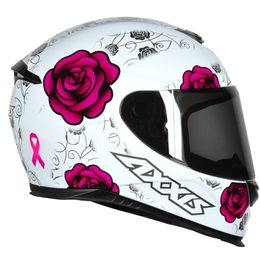 CAPACETE-AXXIS-EAGLE-FLOWERS---ROSA-BRANCO-5