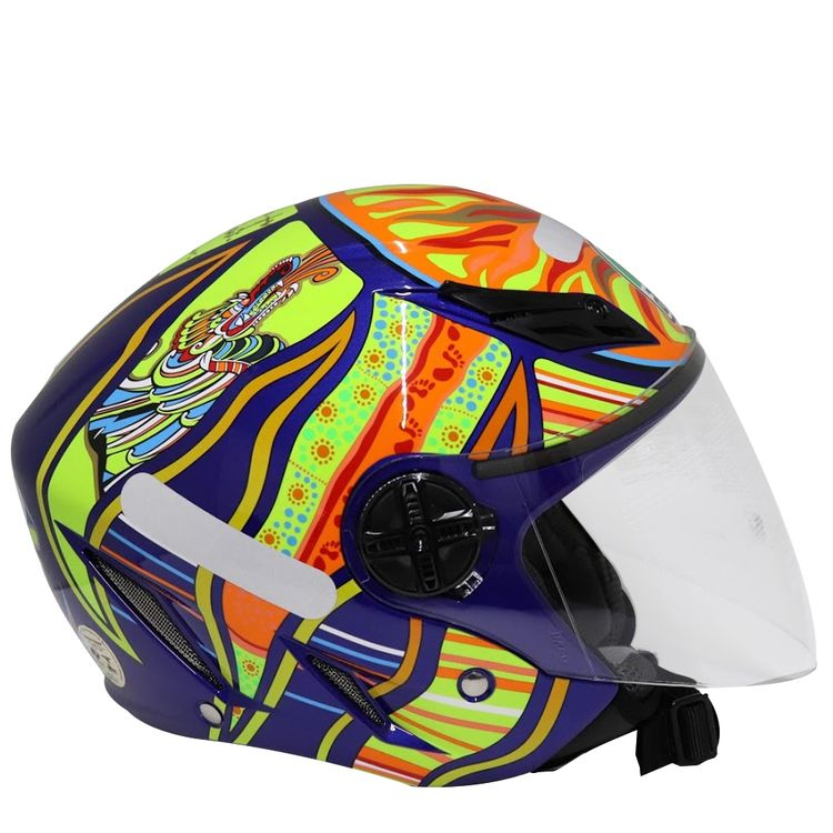 CAPACETE-AGV-BLADE-FIVE-CONTINENTS-AZUL-1