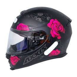 CAPACETE-AXXIS-FLOWERS-PRETO-ROSA-4