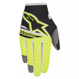 LUVA-ALPINESTARS-RADAR-FLIGHT-YOUTH-2018-PRETO-AMARELO
