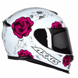 CAPACETE-AXXIS-EAGLE-FLOWERS-BRANCO-ROSA-1