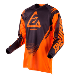CAMISA-ANSWER-SYNCRON-DRIFT-LARANJA-GRAFITE