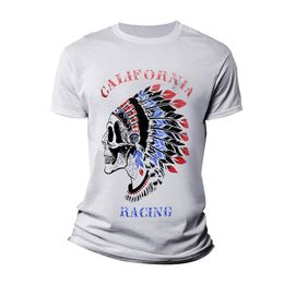 CAMISETA-CALIFORNIA-RACING-INDIO-BRANCA