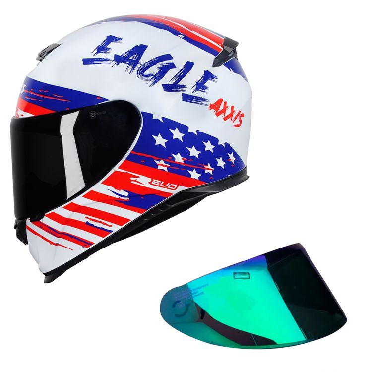 COMBO---CAPACETE-AXXIS-EAGLE-INDEPENDENCE-BRANCO---VISEIRA-VERDE