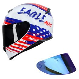 COMBO---CAPACETE-AXXIS-EAGLE-INDEPENDENCE-BRANCO---VISEIRA-AZUL